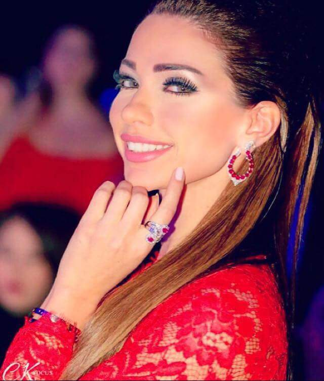 Dalida Khalil in solidarity with skin diseases patients